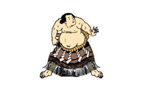 Sumo, Voyage au Japon