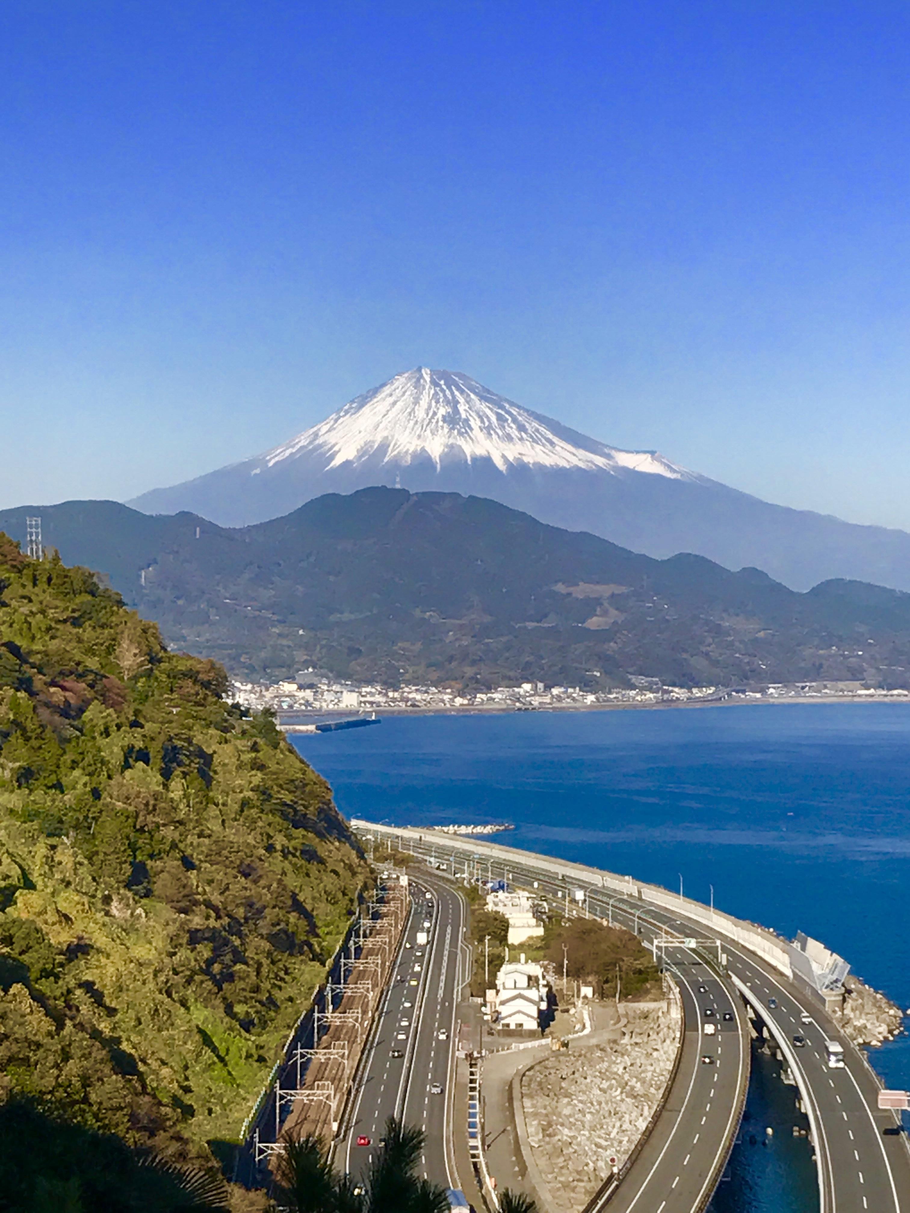 Pause thé avec vue à Shizuoka