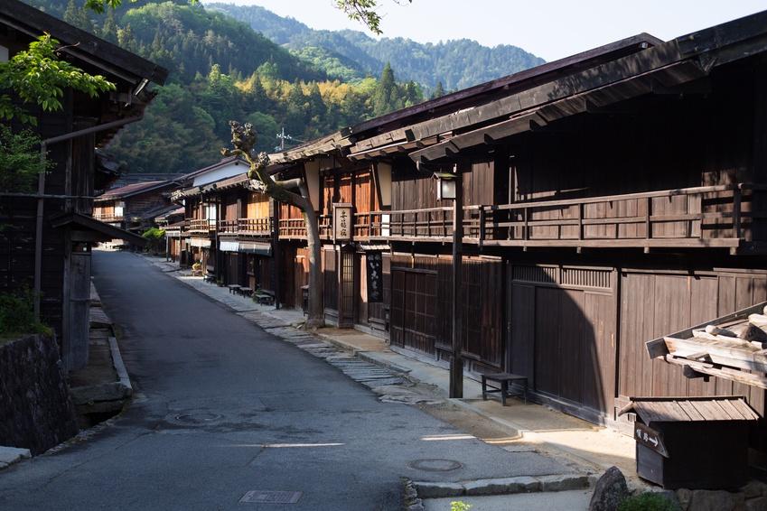 Les 2 capitales avec les Alpes japonaises, version estivale