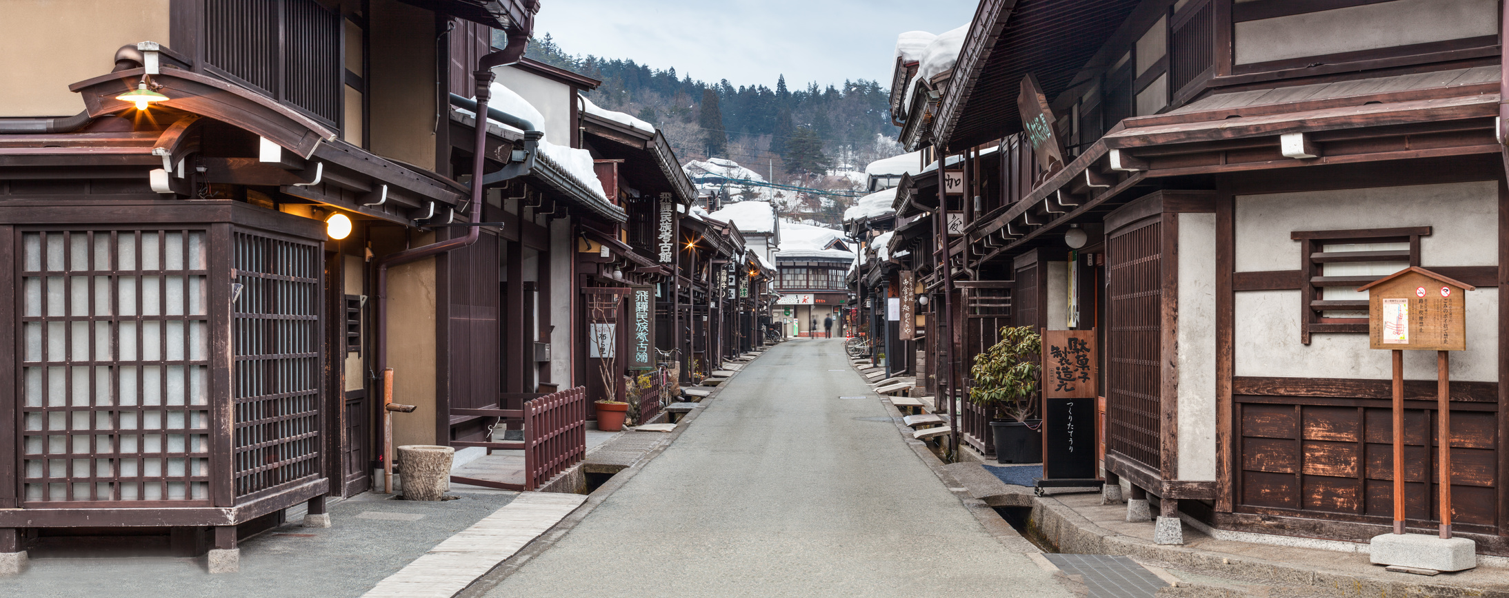 Les 2 capitales avec les Alpes japonaises, version hivernale